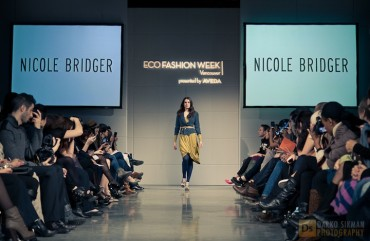 Nicole Bridger at Eco Fashion Week